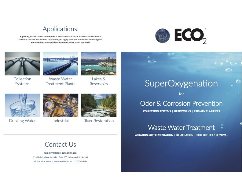 ECO2 Superoxygenation Brochure