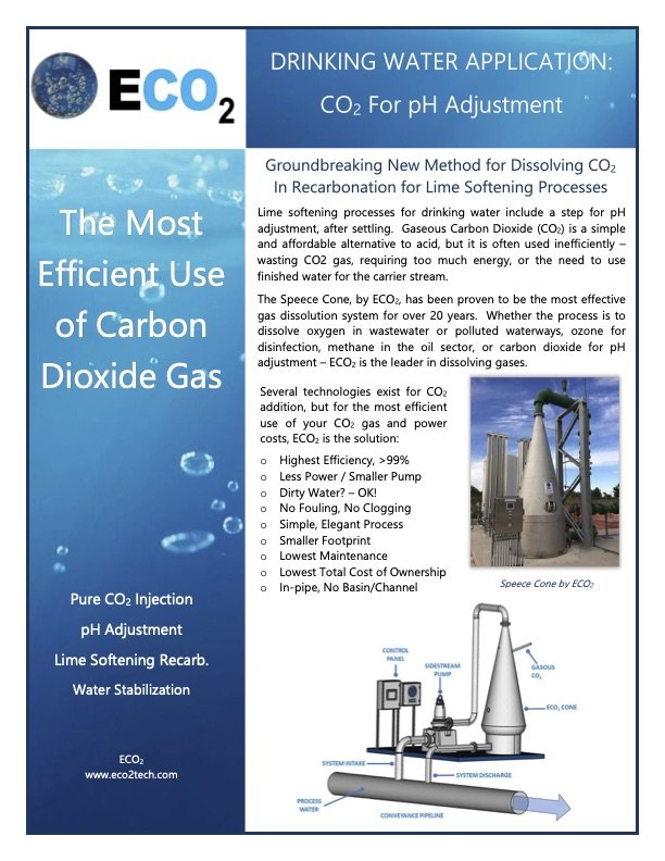 The Most Efficient Use of Carbon Dioxide Gas for pH Adjustment